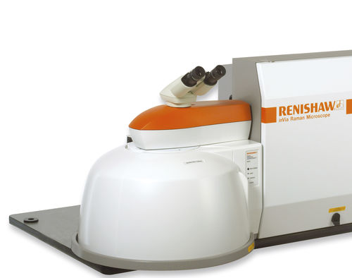 Confocal microscope / Raman / digital camera / measurement inVia RENISHAW
