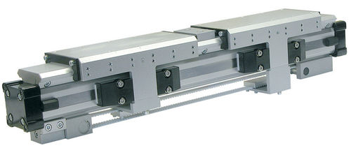 Pneumatic cylinder / rodless / double-acting / with belt transmission OSP-P40-SL-BP series Parker Hannifin GmbH