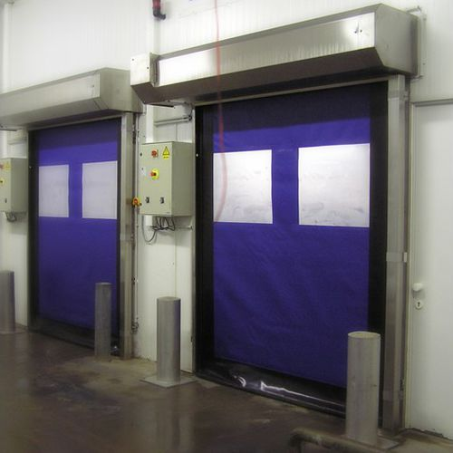 roll-up door / indoor / high-speed