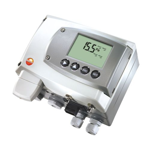 differential pressure transmitter / analog / precision / with LCD display