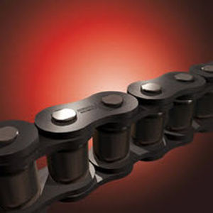 power transmission chain / stainless steel / roller / wear-resistant