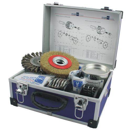 Aqueous medium cleaning machine / manual / process / brush Record-ETK HOLGER CLASEN