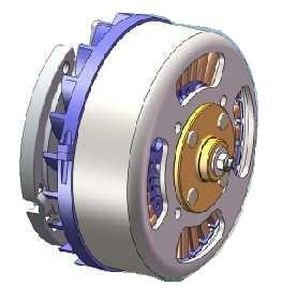 Three-phase alternator / PMG / for wind turbines PMG-WG  series Nuova Saccardo Motori