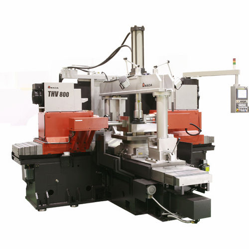3-axis CNC milling machine / horizontal / with 2 pins / high-productivity