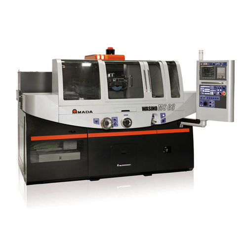 vertical disc grinding machine / for metal sheets / CNC / high-precision