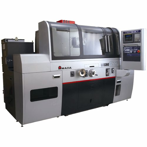 external cylindrical grinding machine / for metal sheets / CNC / high-precision
