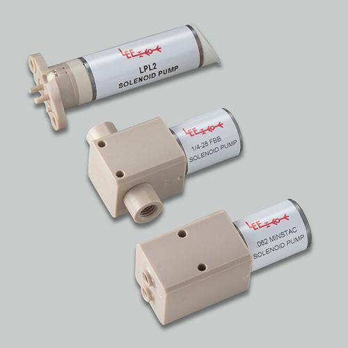 chemical pump / solenoid-driven / self-priming / volumetric dispensing