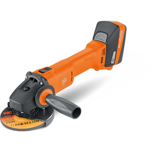 electric portable grinder / angle / compact / wireless