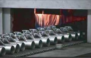 brazing furnace / tunnel / gas / controlled atmosphere