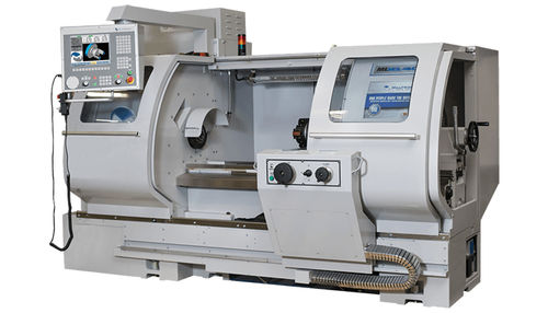 manually-controlled lathe / 2-axis / compact