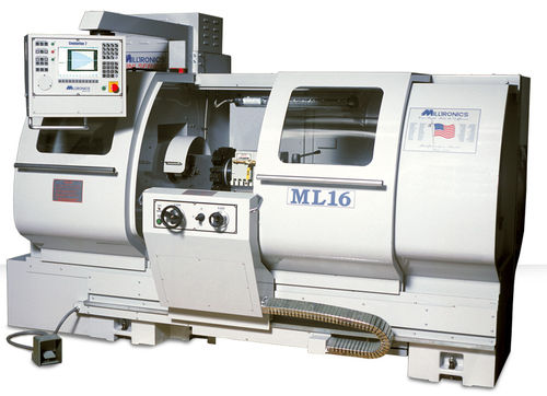 Manually-controlled lathe / 2-axis / compact ML 16/40 Milltronics Manufacturing