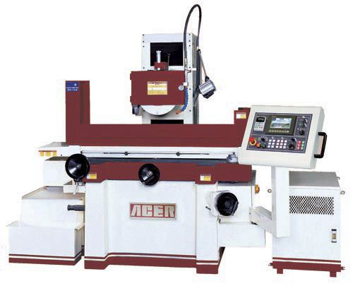 surface grinding machine / for metal sheets / PLC-controlled / 3-axis