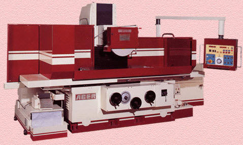 surface grinding machine / for metal sheets / PLC-controlled / high-precision