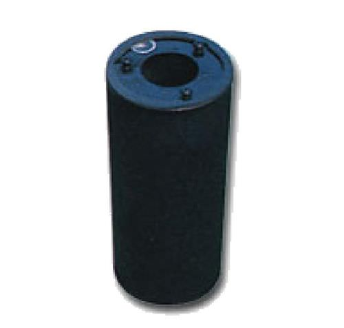 Activated carbon filter cartridge / steel / for gas ø 4 mm, max. 40 °C | Carboncartridge MGT FILTRIxARIA