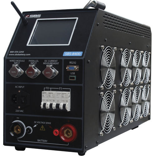 capacitance tester / battery / with monitoring