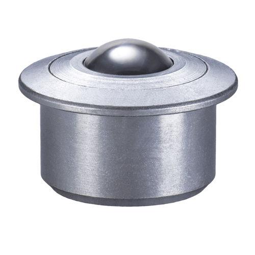 medium load ball transfer unit / stainless steel / POM / insert