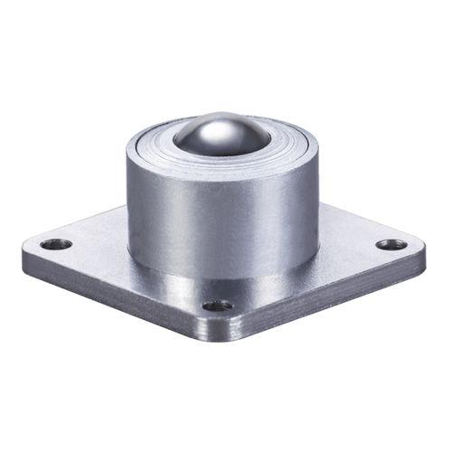 medium load ball transfer unit / stainless steel / POM / flanged
