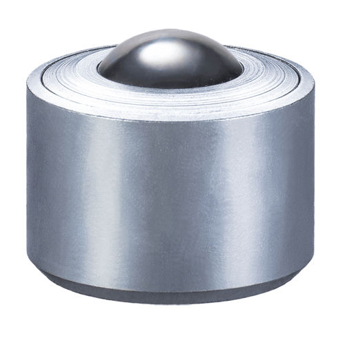 medium load ball transfer unit / stainless steel / POM / cylindrical base