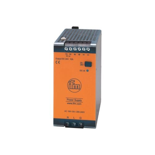 switching power supply / AC/DC / regulated / DIN rail