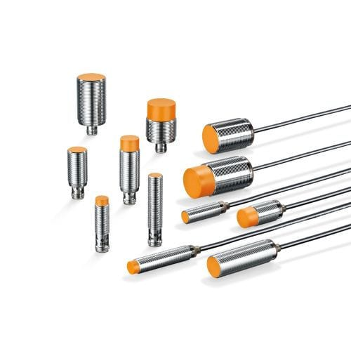 inductive proximity sensor / threaded cylindrical / for harsh environments / metal