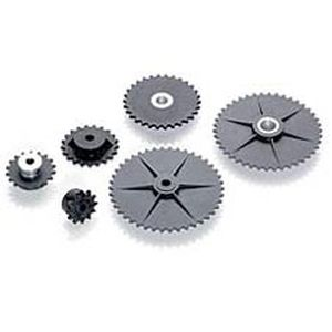 Straight-toothed sprocket wheel / hub / for chain S 25 series Torque Transmission