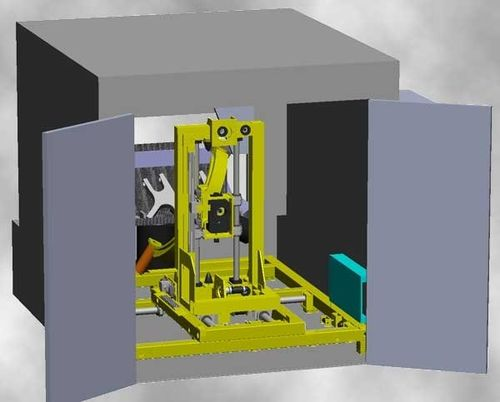 Fully-automatic X-ray inspection machine MAXIknuckle™ Xtreme Jacobsen Real-Time X-Ray Machinery Inc.