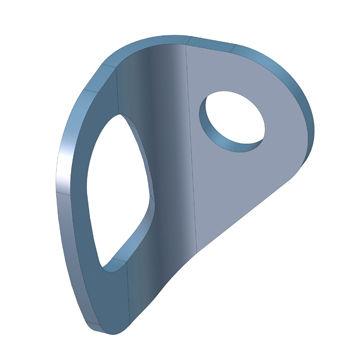 Hoist ring SECURIFIX® plaquette inox SOMAIN SECURITE