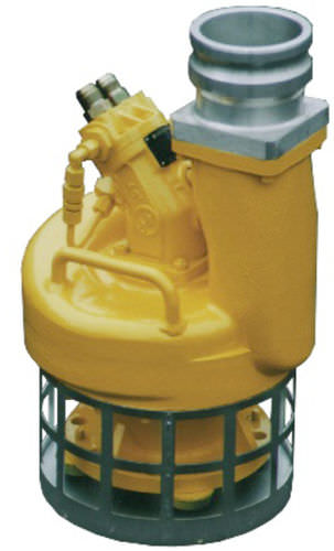 Submersible pump / screw / centrifugal / handling S4SCR Hydra-Tech Pumps