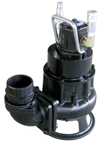 wastewater pump / hydraulically-operated / submersible / impeller