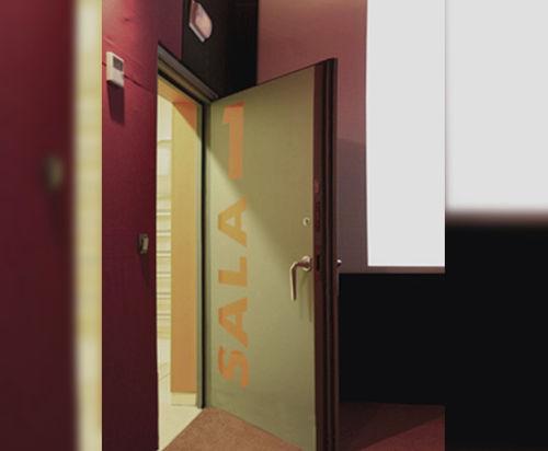 swing door / metal / indoor / acoustic