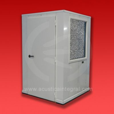 sound-proof booth / for noisy environments / portable