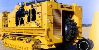 Wheel trencher / tracked 335 HP | HRT series RWF Industries