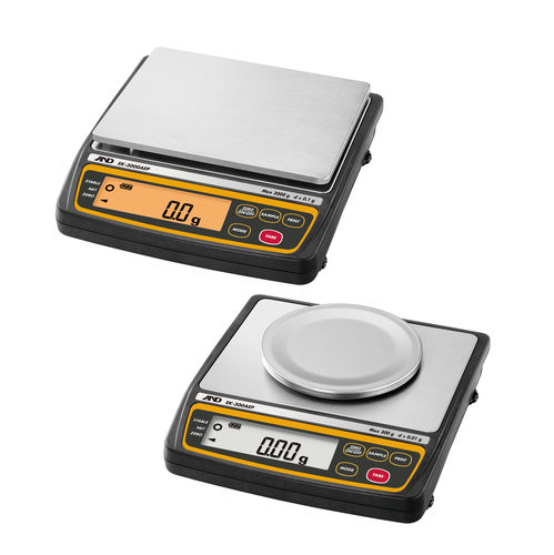 precision balance / compact / with LCD display / compact