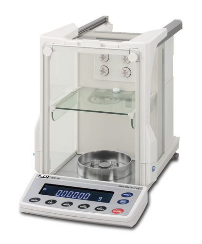 Analysis scale / digital / with internal calibration 5.1 - 520 g, 0.001 - 0.1 mg | BM series  A&D COMPANY, LIMITED