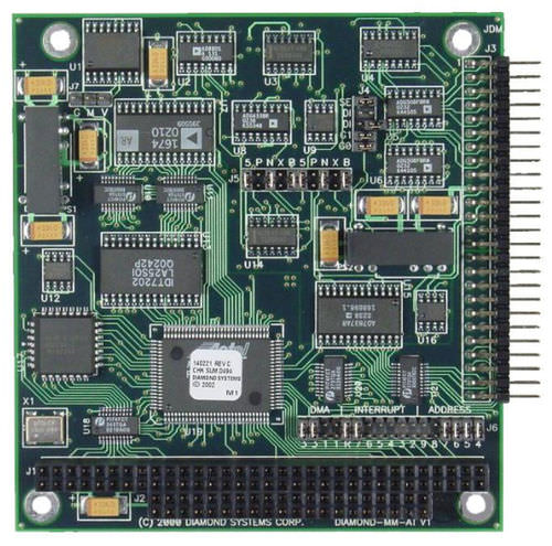 Analog I O module / programmable PC/104 | Diamond-MM-AT  Diamond Systems