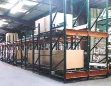 pallet shelving / for heavy loads / dynamic