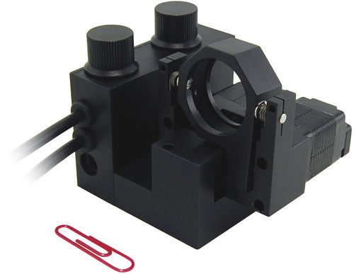 motorized positioner / rotary / 2-axis / optical component