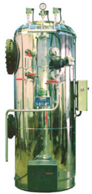 Superheated steam boiler / gas / fire tube / vertical OLV  OLMAR