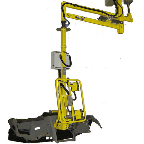 pneumatic manipulator / with gripping tool / with suction cup / for materials handling
