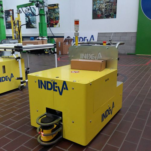 warehouse automatic guided vehicle / handling / electric