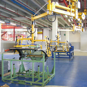 Pneumatic manipulator / with gripping tool / handling / overhead rail-mounted 80 - 250 kg | PN ERGO Scaglia Indeva
