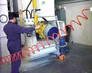 Pneumatic manipulator / vacuum / empty drum Scaglia Indeva