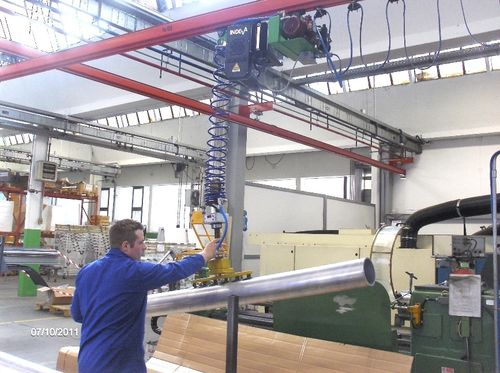 Manipulator with suction cup / positioning / hanging Scaglia Indeva