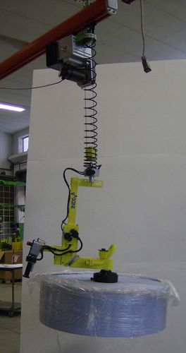 Manipulator with gripping tool / for reel handling / self-balancing Scaglia Indeva