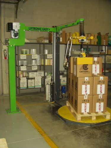 Cardboard box lifting system Scaglia Indeva