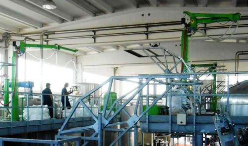 Manipulator with orbital end effector / bag / hanging / industrial INDEVA Liftronic Scaglia Indeva