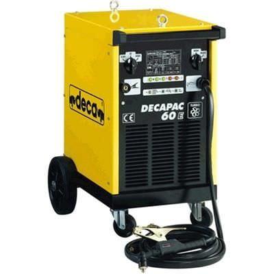 Manual plasma cutter / transformer DECAPAC 60E Deca