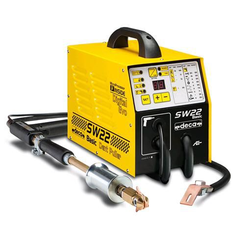 Resistance welder / single-phase / pulsed DC 2 200 A | SW 22 BASIC EVO Deca