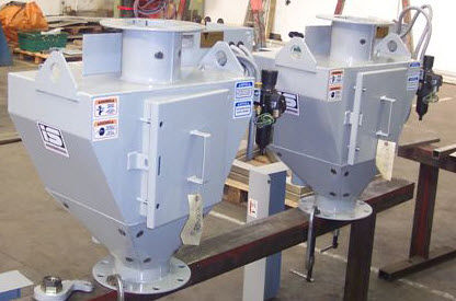 Powder sampler / continuous-flow / stainless steel GRA InterSystems