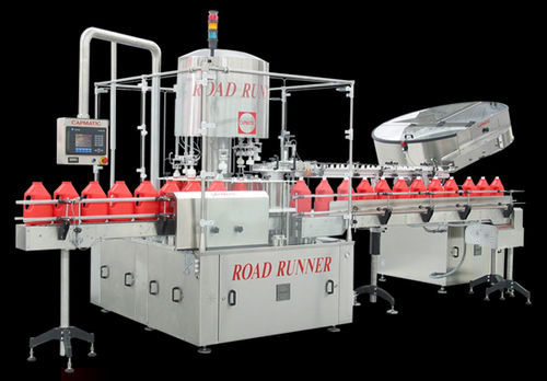 Rotary capper / automatic / bottle max. 600 p/min | Road Runner™ Capmatic